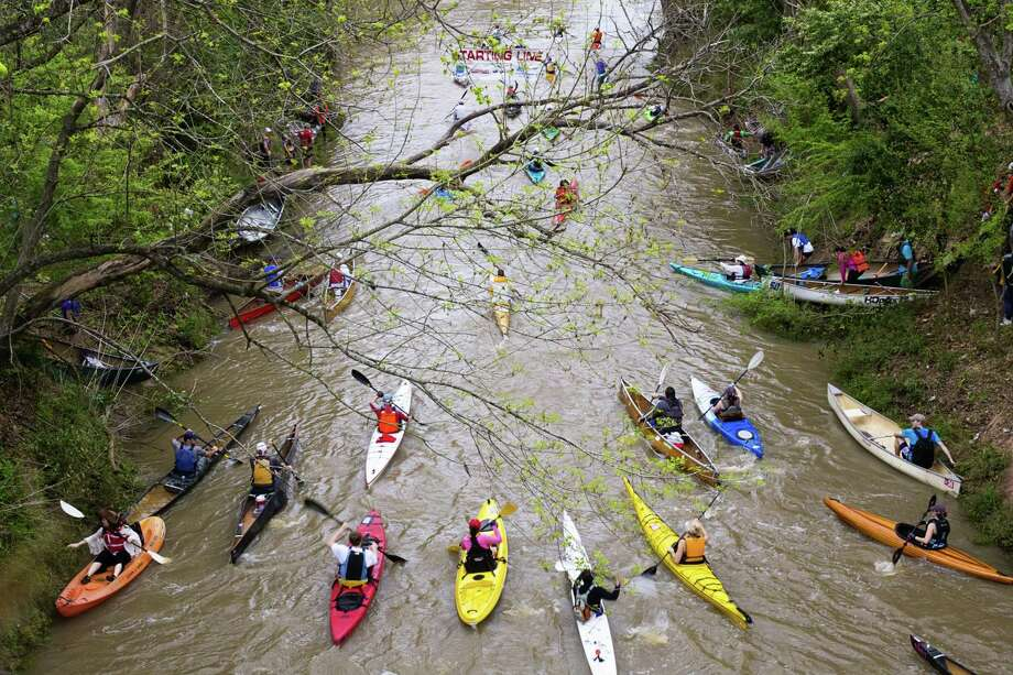 Buffalo Bayou Partnership presents the 47th Annual Regatta on Saturday. Photo: Katya Horner
