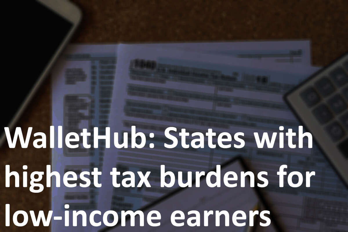 WalletHub released a report breaking down the tax burdens for each state and for three different incomes levels, low, medium and high. They ranked the