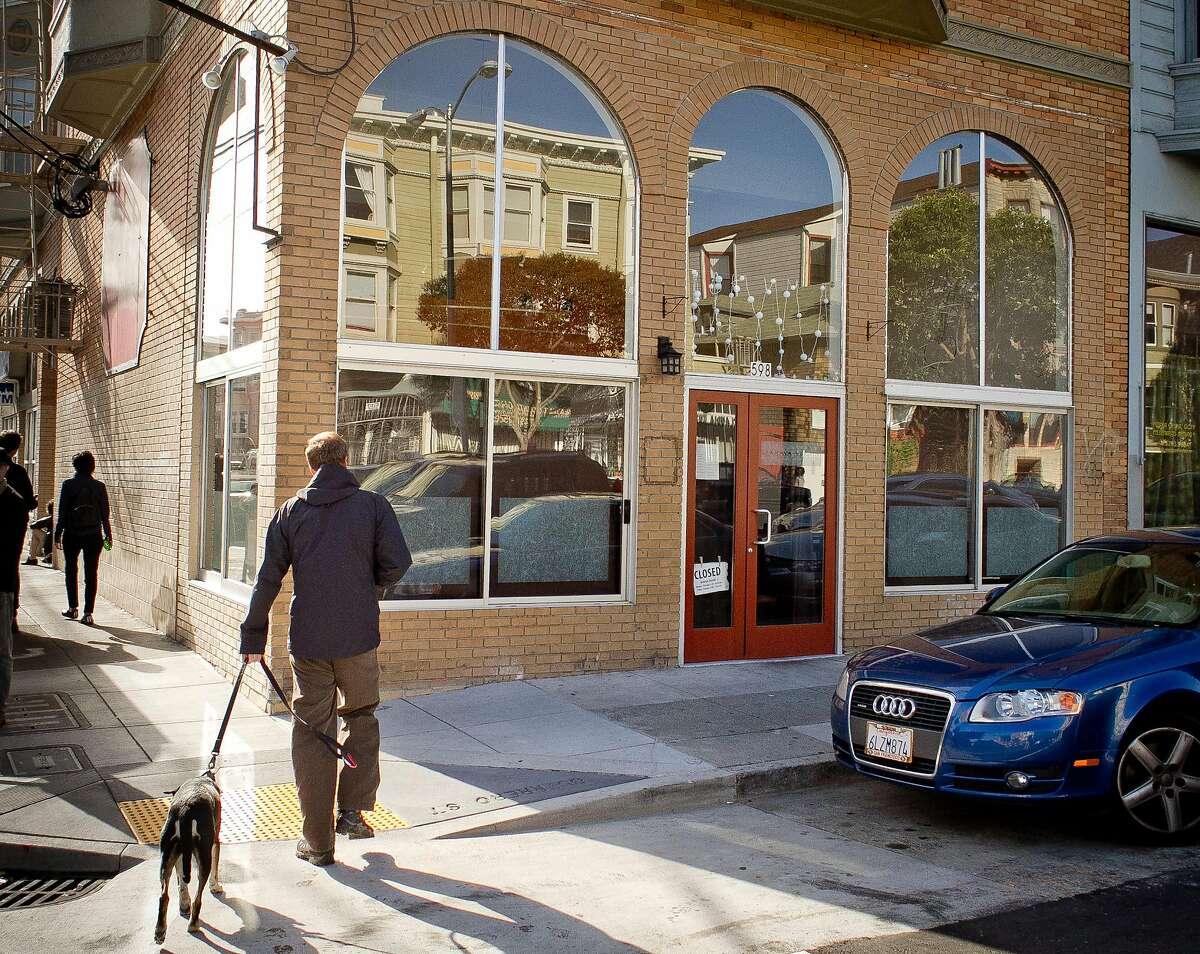The exterior of Izakaya Yuzuki Restaurant in San Francisco, Calif., is seen on Saturday, March 31st, 2012.