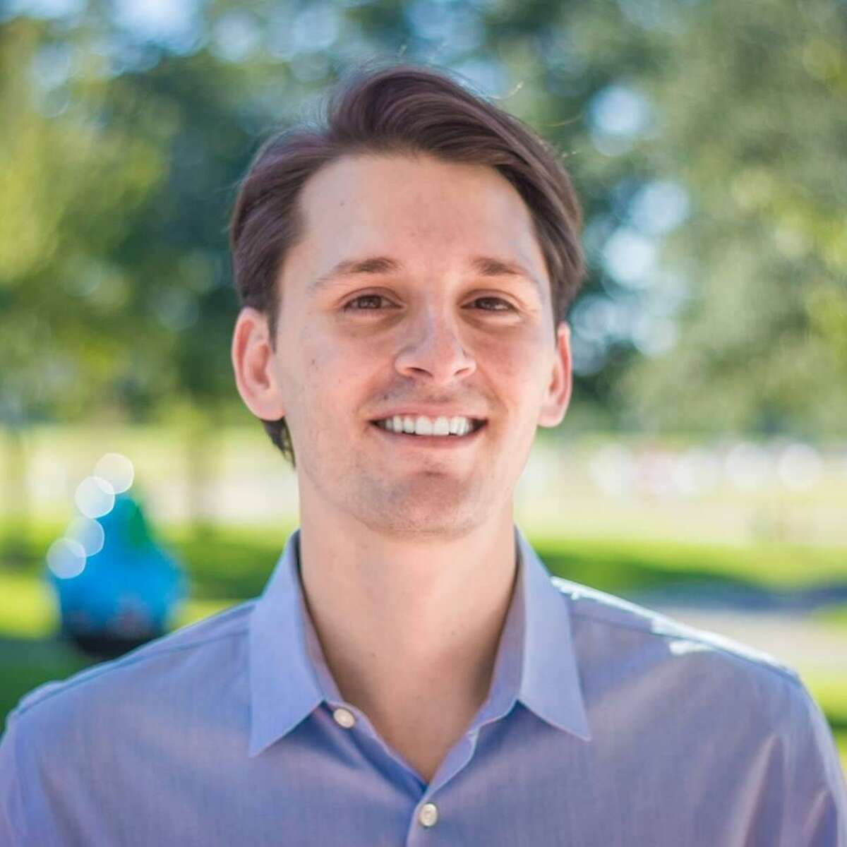 Management consultant Luke Orlando is running for Pearland City Council Position 1.