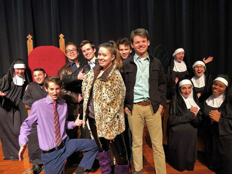 """Mercy and Xavier High Schools present """"Sister Act"""" Saturday, March 9 at 7 pm and Sunday, March 10 at 2 pm in the Mercy High School Auditorium, 1740 Randolph Road, Middletown. Photo: Contributed Photo"""