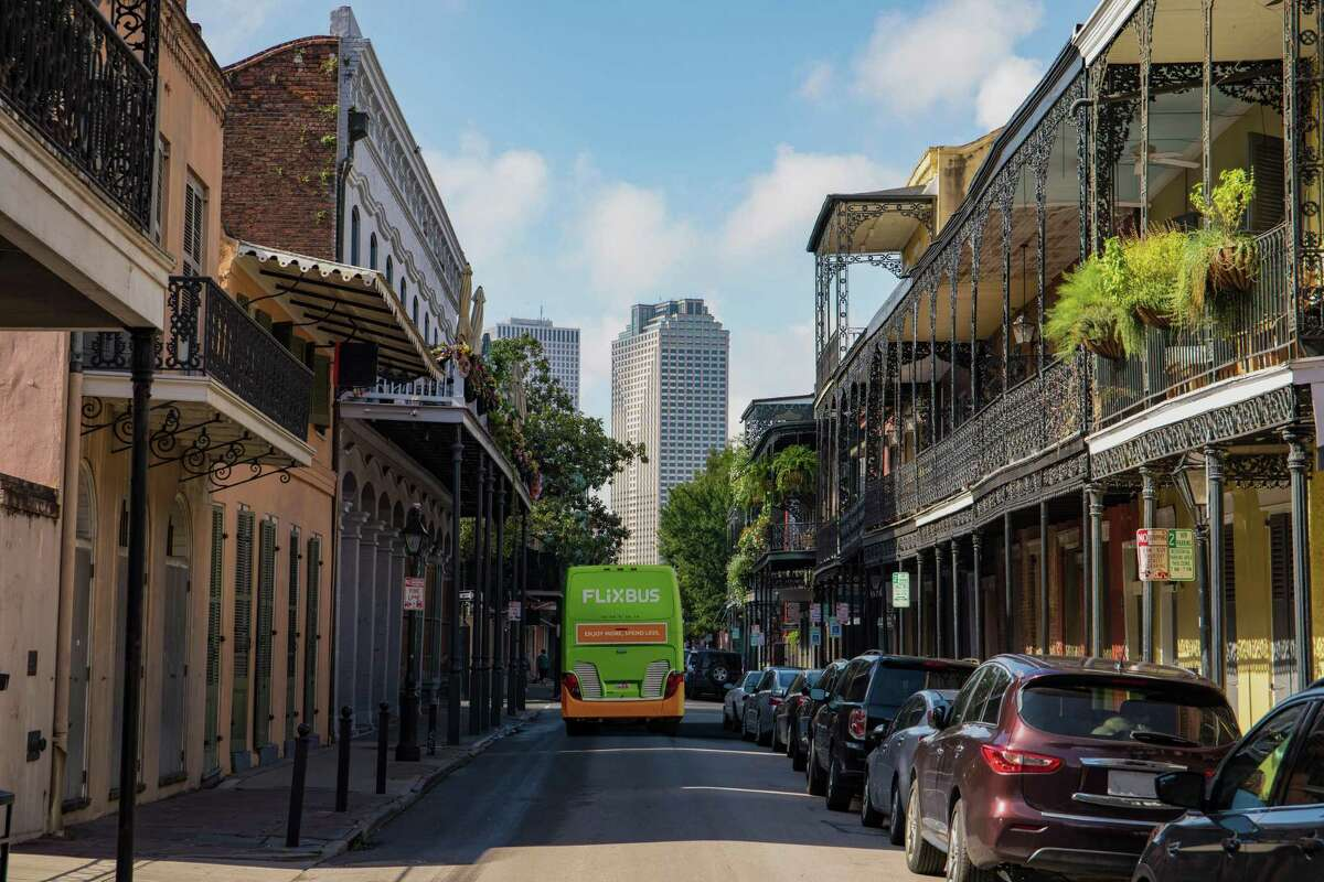 Flixbus, a European bus company expanding to the Gulf Coast, will have stops in Houston, San Antonio, Baton Rouge, New Orleans and Biloxi, Miss., with service starting March 14.