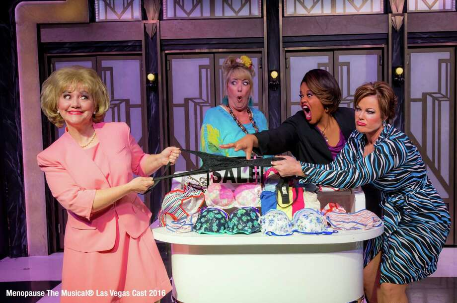 """The touring company for """"Menopause the Musical"""" is appearing at the Palace Theater in Waterbury Saturday, March 23. Photo: GFour Productions / Contributed Photo"""