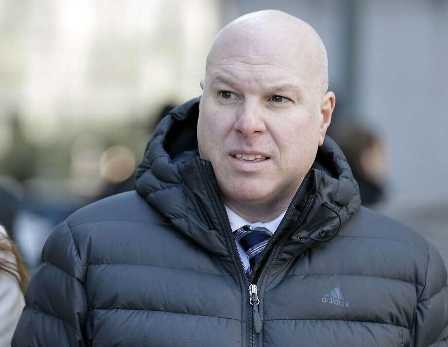 Former Adidas executive James Gatto will serve nine months in prison. Photo: Seth Wenig / Associated Press