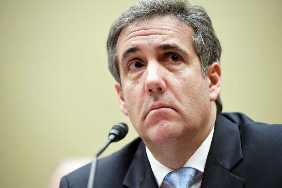 Michael Cohen, former attorney to President Donald Trump, testifies before the House Oversight Committee on Wednesday, Feb. 27, 2019. Photo: Washington Post Photo By Matt McClain. / The Washington Post