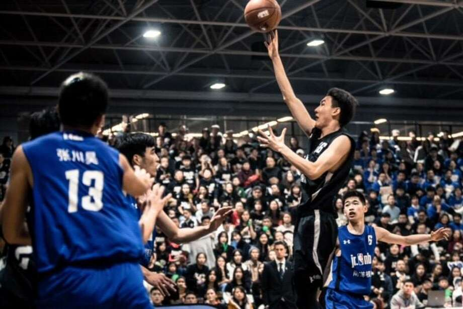 Students of King School in north Stamford will have the chance to play basketball against a variety of Chinese basketball teams as part of a cultural immersion trip to China. Photo: Contributed Photo