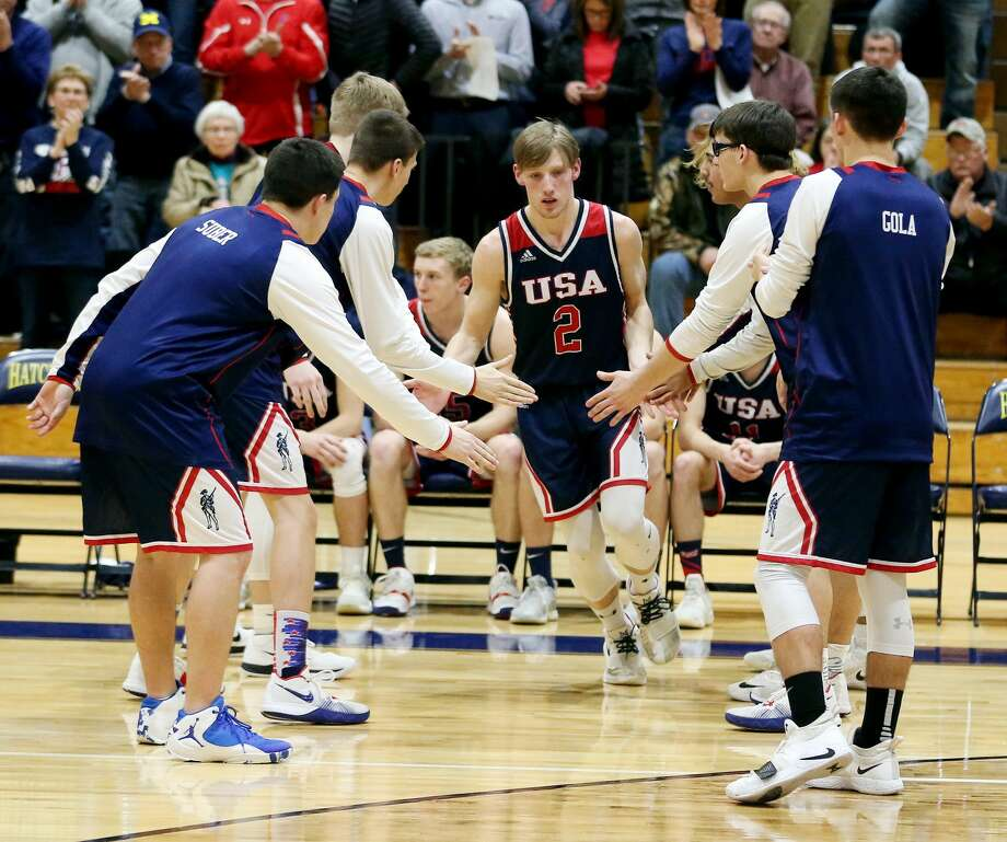 USA 63, Ithaca 60 (OT) Photo: Paul P. Adams/Huron Daily Tribune