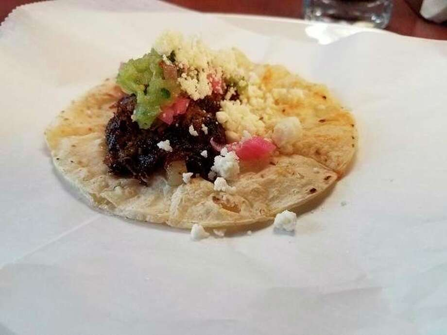 TheGourmetTaco at Black Creek Kitchen, 3305 West River Road in Sanford. (Photo by Matthew Woods)