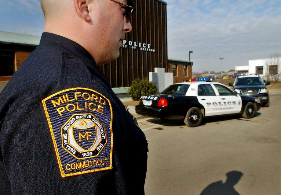 Milford police made an arrest in an alleged road rage incident early Wednesday, March 6, 2019. Photo: Contributed Photo