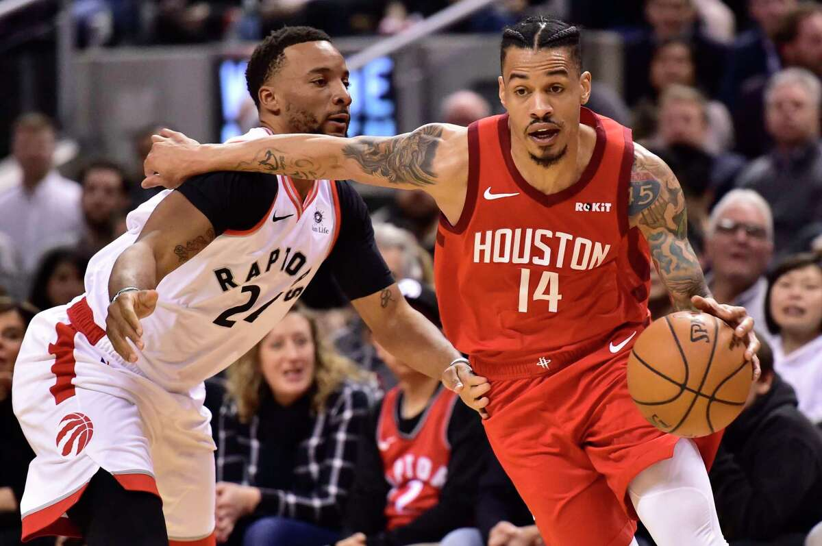 HOUSTON ROCKETS Gerald Green, guard Dobie and Gulf Shores Academy High School Green is one of the Rockets' key reserves, averaging 9.2 points per game and shooting 35.4 percent from the 3-point line.
