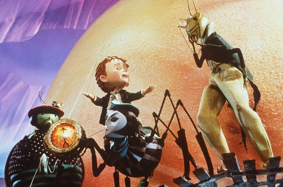 "A still from the film version of ""James and the Giant Peach."" A play version of the story, based on the book by Roald Dahl, will be performed at Masuk High School on March 29 and March 30, 2019. Photo: /"