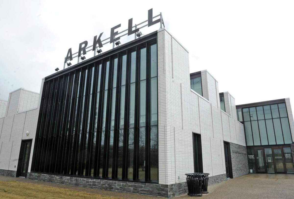Exterior of the Arkell Museum on Friday, March 18, 2016, in Canajoharie, N.Y. (Michael P. Farrell/Times Union)