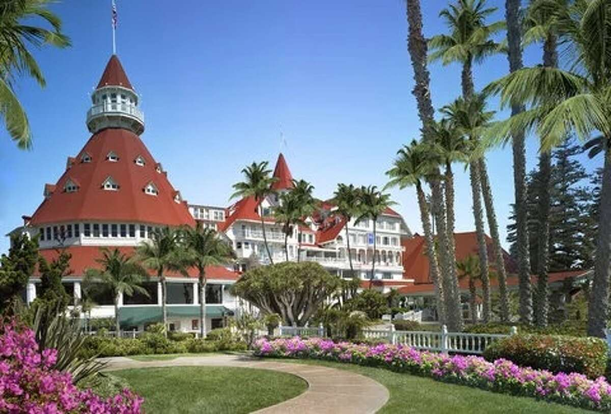 HOTELS: The Hotel del Coronado (1500 Orange Ave.) If you're looking to splurge on top quality, considerThe Hotel del Coronado. The hotel has a 4.6-star rating on Skyscanner, and rooms are currently available for $290.