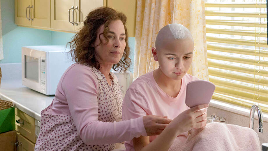 """""""The Act"""" (Hulu) -This series' unabashed indulgence of its trashier side didn't stop it from presenting real and meaningful insights about its characters. Taking the widely-reported story of Gypsy Rose and Dee Dee Blanchard — and enlisting showrunner Michelle Dean, the reporter who first brought it to national attention — """"The Act"""" builds a story of often-painful tension rooted in a deep understanding of unusual characters. Patricia Arquette continued her recent run of committed character work with her performance as Munchausen mom Dee Dee, but the show belonged to Joey King, a genuine discovery as Gypsy Rose. Her character, sheltered but shrewd, lives in simultaneous fear of freedom and desperation for it; by the time she enlists an online boyfriend to kill her mother, King, who I hope will receive awards attention for her work, has shown you endless shades of manipulation and of need. -DD Photo: Brownie Harris / Hulu / 2018 Hulu"""