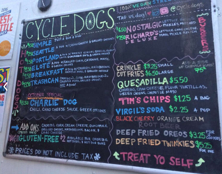 For the ultimate Seattle dog or hot dog... Cycle Dogs divvies out a darn good dog that doesn't break the bank, either. Nestled in Ballard on 17th Avenue Northwest (pretty close to Reuben's Brews, too,) they also dole out delivery via Postmates, Uber Eats and DoorDash.