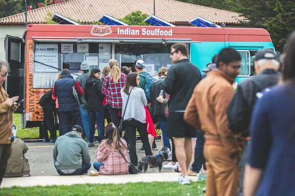 Indian Soulfood Truck at the Presidio Picnic in 2017.