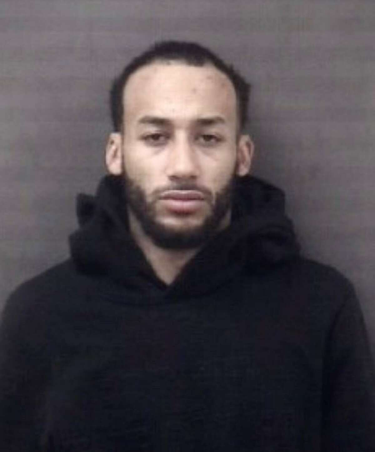 Christopher Dahlinger of Trumbull was arrested by Milford police Friday. He is a suspect in a Guilford and Amherst, Mass. burglaries.