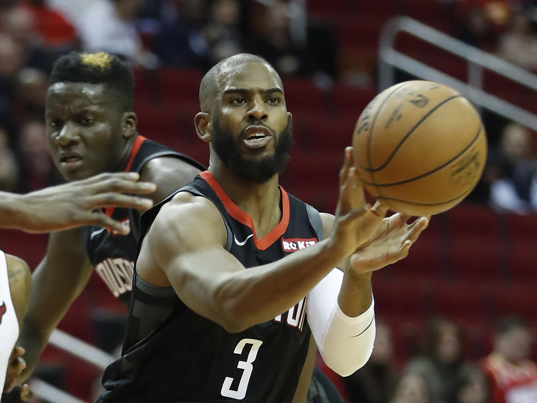 Chris Paul running a first-rate second-unit for Rockets