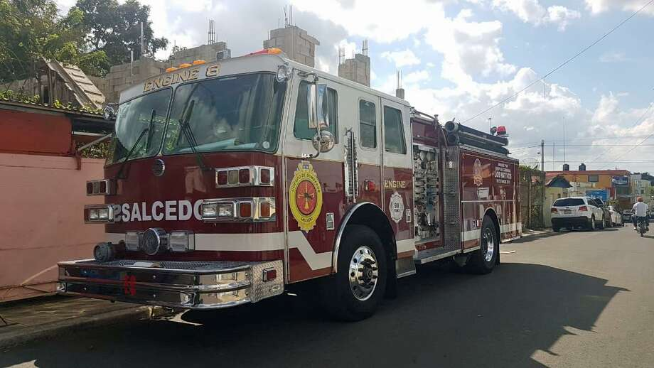 The city of Salcedo, Dominican Republic, purchased and refurbished an old Westport firetruck. It will be dedicated in Salcedo during a ceremony on March 9, 2019. Photo: Contributed