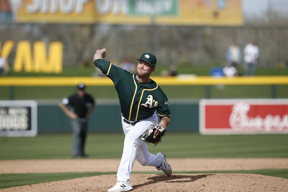 The A's acquired Tanner Anderson in a November 2018 trade when the Pirates didn't have roster spot for the right-hander.