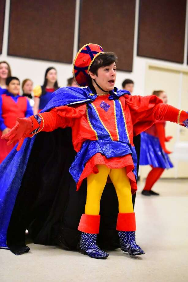 """Class Act Productions presents """"Shrek the Musical"""" March 8, 9 and 10 at The Nancy Bock Performing Arts Center in The Woodlands. Zachary Bricken portrays Lord Farquaad. Photo: Photo Courtesy Class Act Productions"""