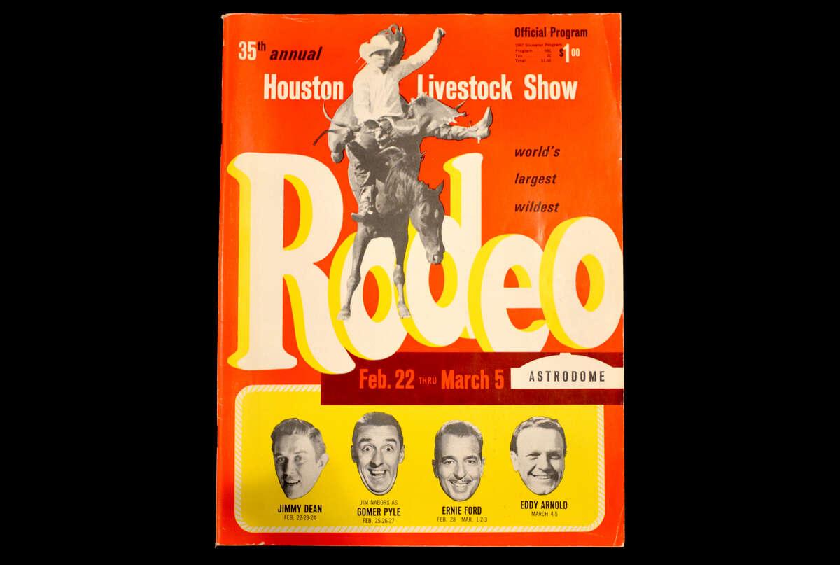 1967 Houston Livestock Show and Rodeo souvenir program.