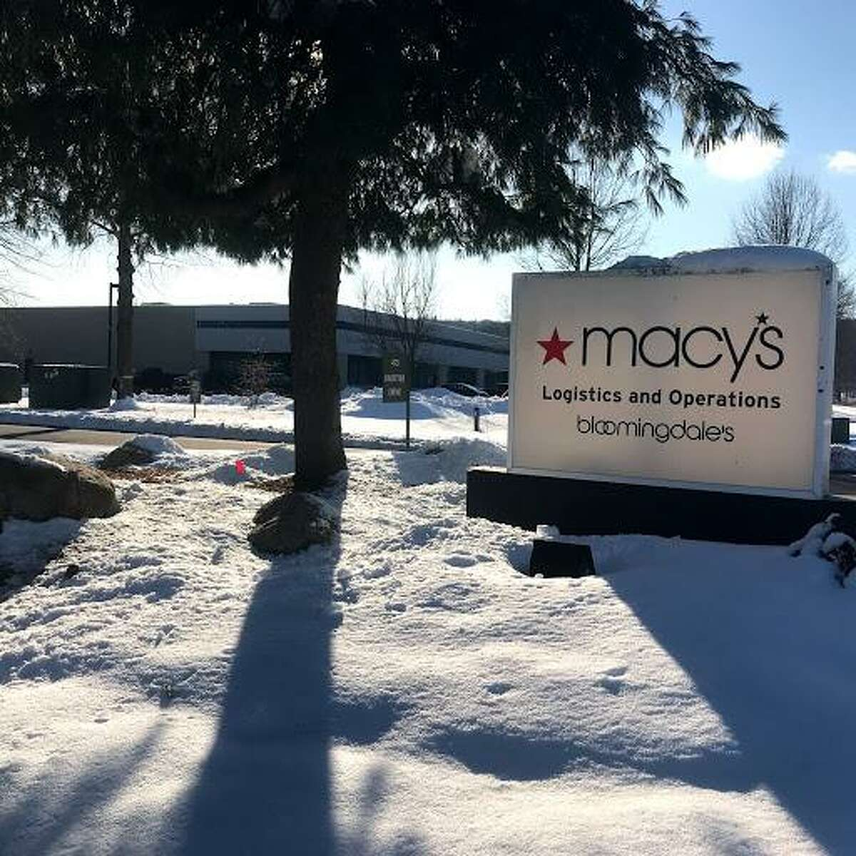 Macy's Logistics center on Knotter Drive in Cheshire opened in 1989