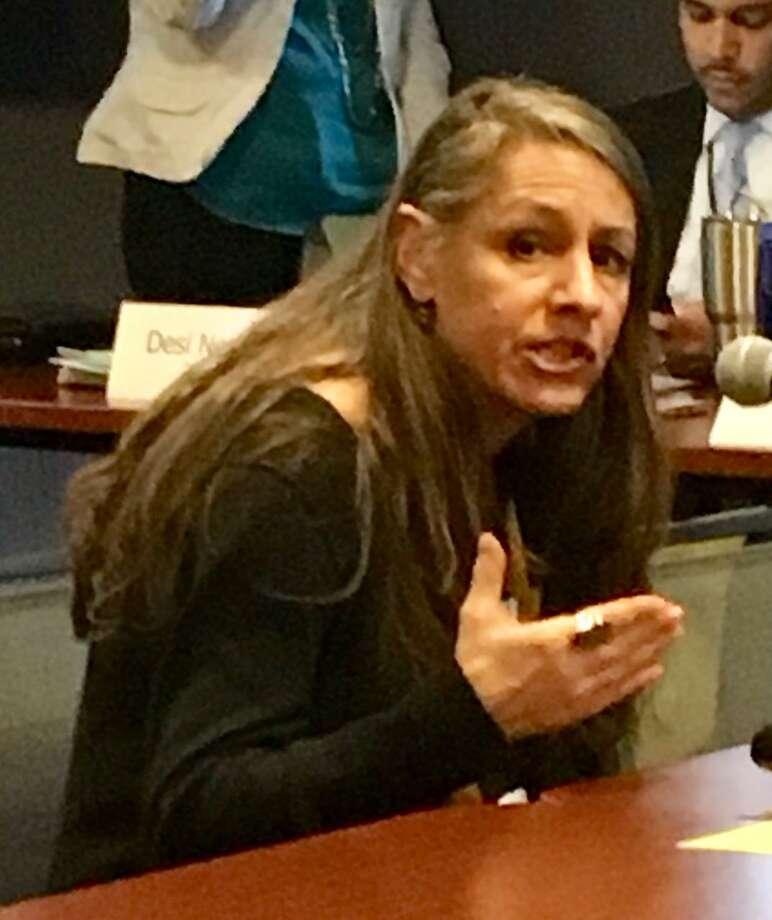 Advocates speak on behalf of charter school renewals in Hartford. March 6, 2019. Photo: Linda Conner Lambeck