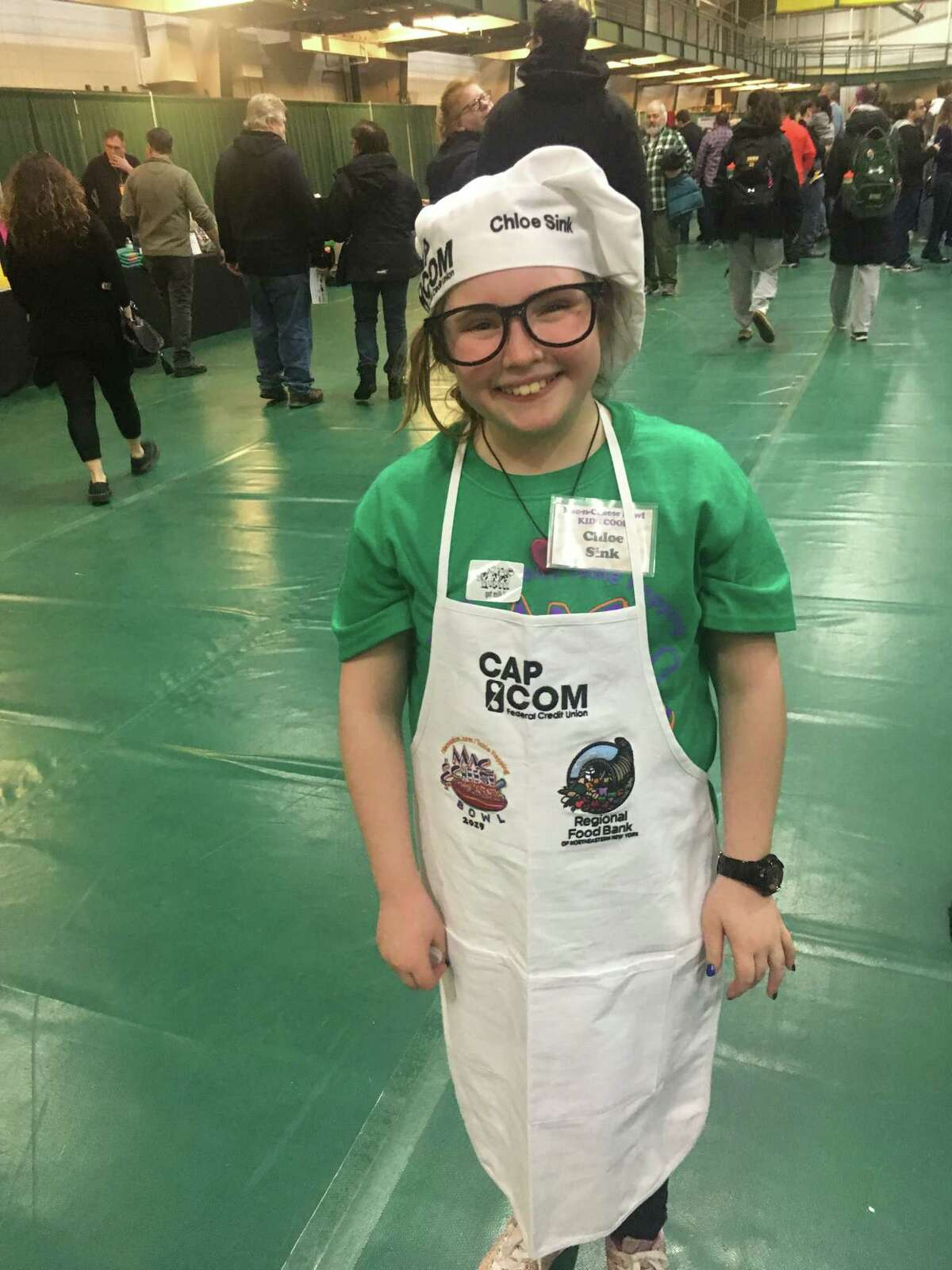 Chloe Sink, 10, of Albany is the kids cook winner from the 2019 Mac-N-Cheese Bowl. (Provided)