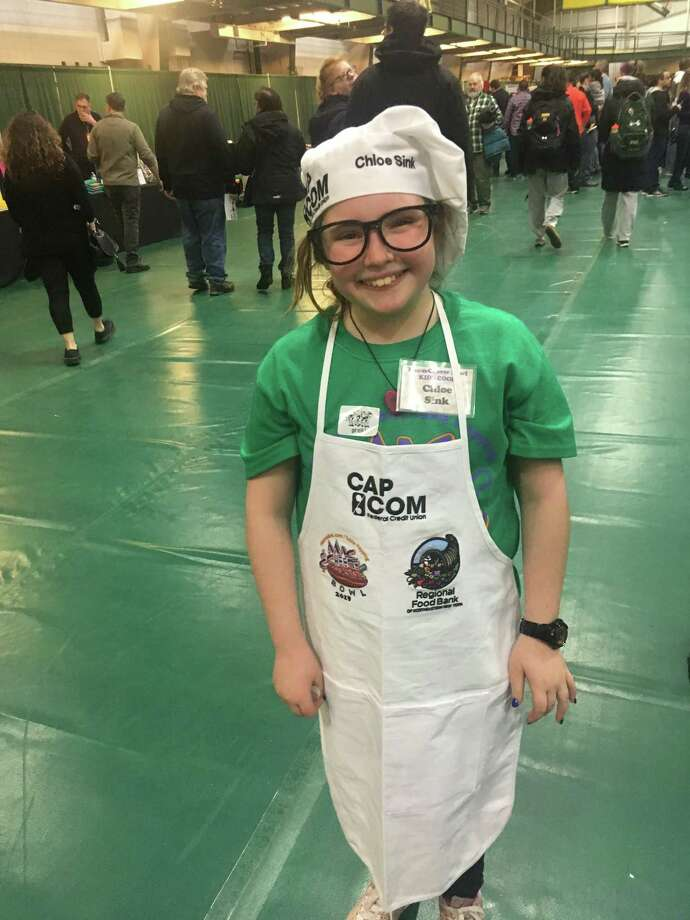 Chloe Sink, 10, of Albany is the kids cook winner from the 2019 Mac-N-Cheese Bowl. (Provided) Photo: Provided