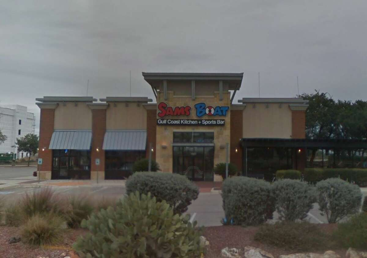 Closed: Sam's Boat Gulf Coast Kitchen + Sports BarThe Stone Oak-area seafood location on Loop 1604 in San Antonio has closed, according to a sign posted at the restaurant. Read more: San Antonio location of Sam's Boat in Stone Oak area closed suddenly