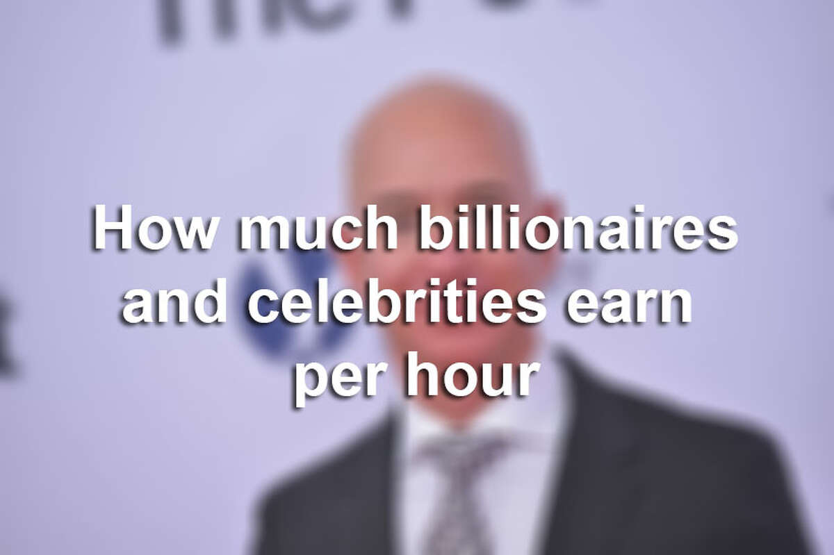 How much billionaires earn per hour is staggering.