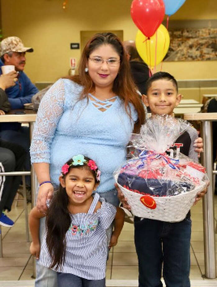 McDonald's of Laredo announced Tuesday that Nayelly Guerrero was the winner of the raffle for free McDonald's for a year. Photo: Courtesy