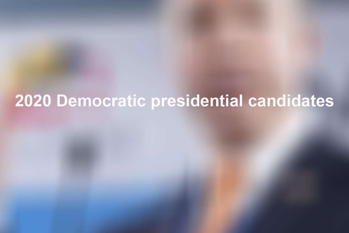 These Democrats have officially declared they are running for president in 2020: