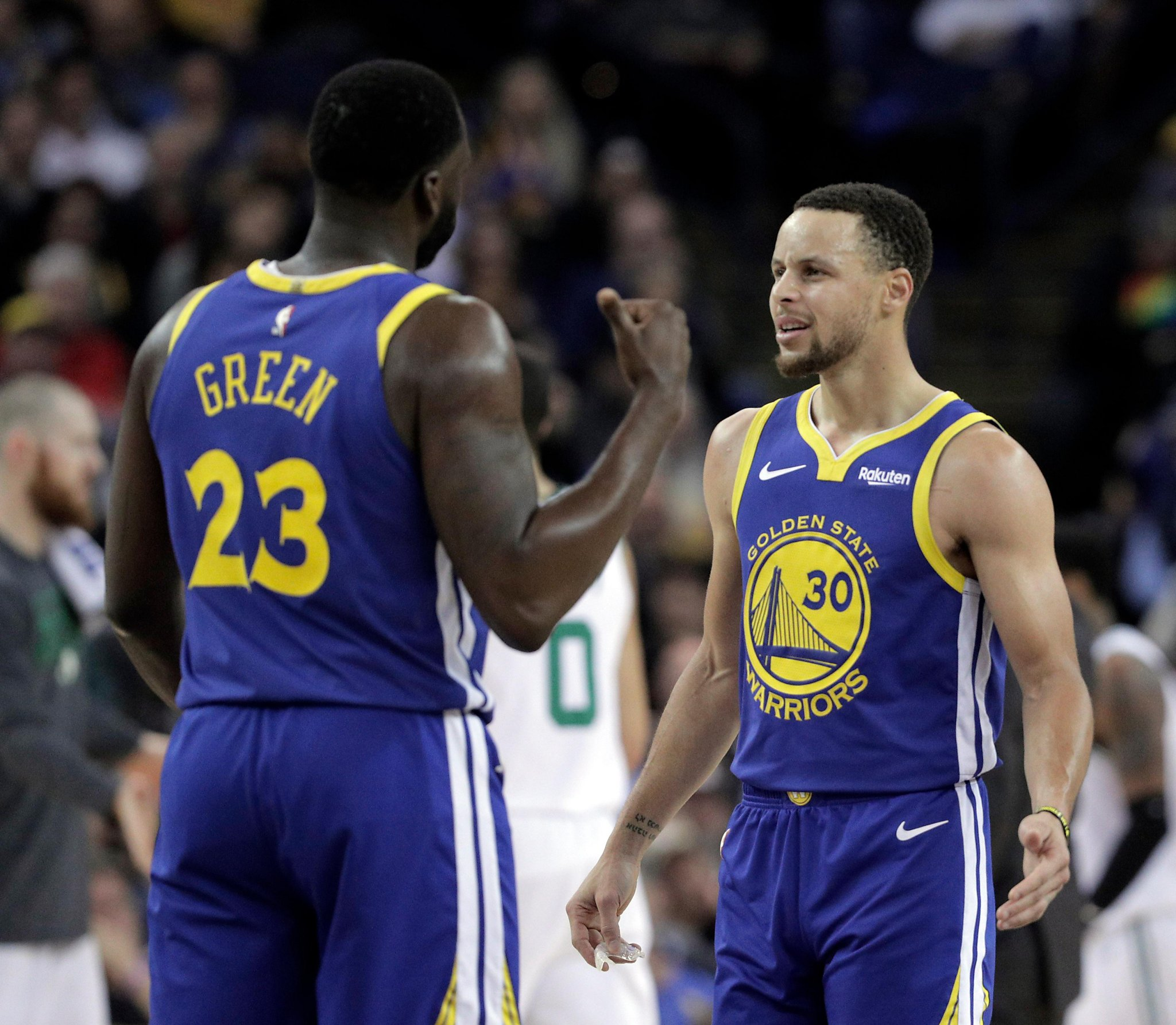 purchase cheap af229 a962c Steph Curry rips players who voted Draymond the NBA's 'most ...