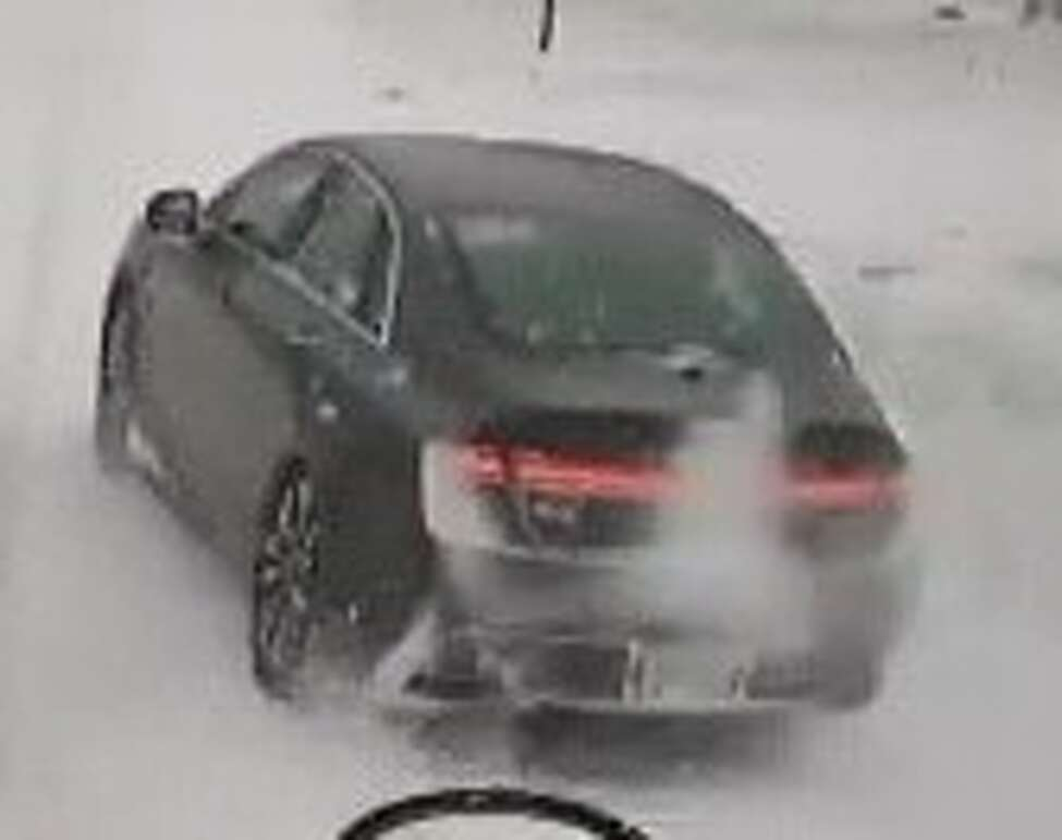 This car allegedly recklessly passed a school bus on Route 9 as two children were getting off in February.