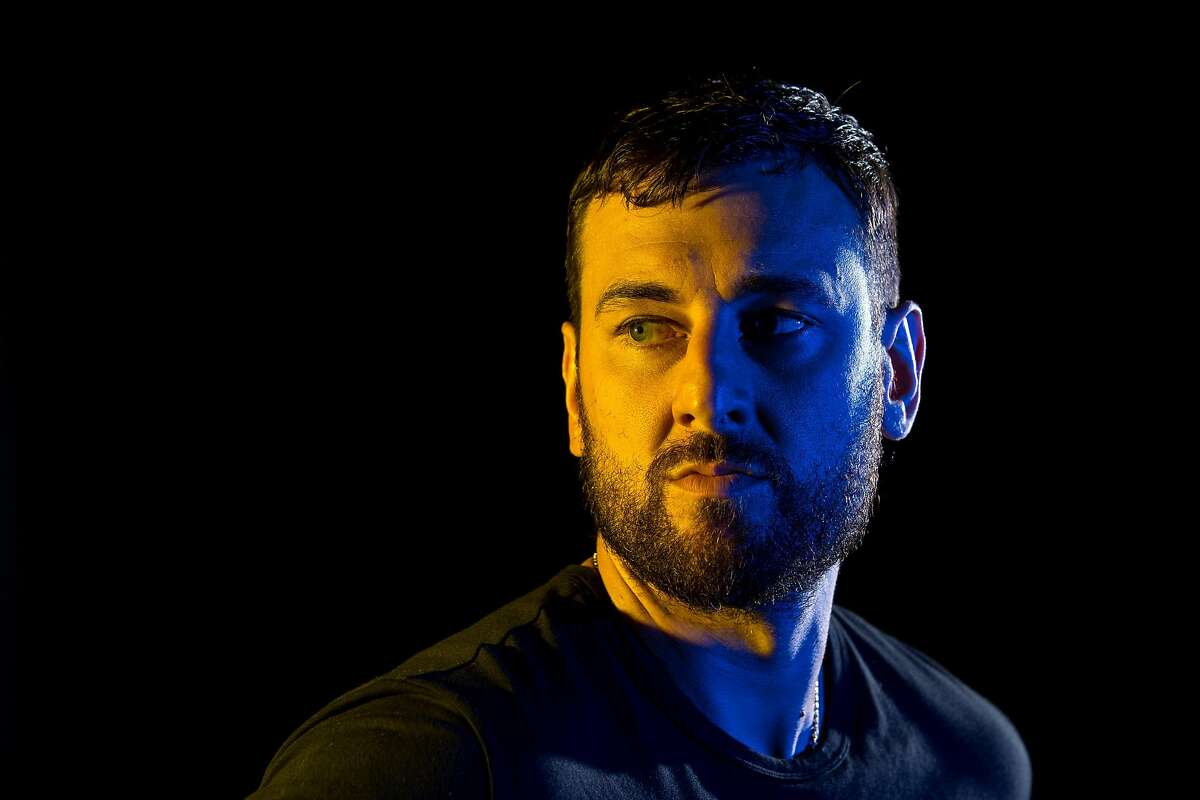 SYDNEY, AUSTRALIA - MARCH 07: Andrew Bogut poses for a portrait following a press conference announcing his short term contract with the Golden State Warriors, at Qudos Bank Arena on March 07, 2019 in Sydney, Australia. (Photo by Cameron Spencer/Getty Images)