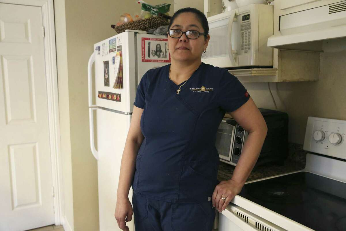 Weng Flores talks about her missing employer, Andreen McDonald, on March 6, 2019. Flores is a manager of a home owned by Starlight Homes Assisted Living, a company started by Andreen and her husband, Andre.