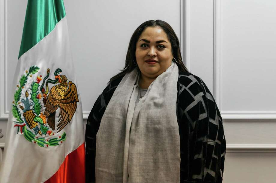 Reyna Torres Mendivil was nominated Wednesday to become the consul general in Chicago. Photo: /Jomando Cruz /Contributer