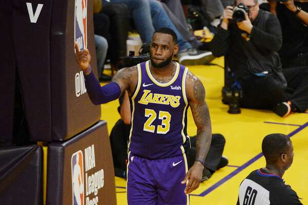 6a8d06637ef LeBron James passes Michael Jordan for 4th in career scoring ...
