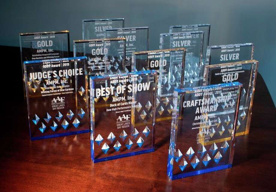 AMPM, Inc. was awarded Best of Show, the Craftsmanship Award, a Judge's Choice Award, plus 10 ADDY Awards at the local American Advertising Federation ADDY Awards celebration Feb. 22 at the Midland Center for the Arts. (Photo provided)