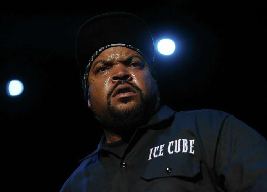 Ice Cube performs during the first night of the Treasure Island music festival Oct. 15, 2016 in San Francisco, Calif. Photo: Leah Millis, Staff / The Chronicle / Leah Millis/ The Chronicle