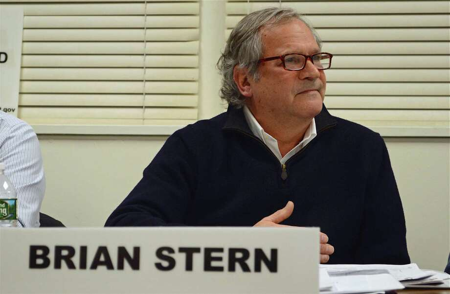 Chairman Brian Stern speaks his piece at the Board of Finance meeting on Wednesday, March 6, 2019, in Westport, Conn. Photo: Jarret Liotta / For Hearst Connecticut Media / Westport News Freelance