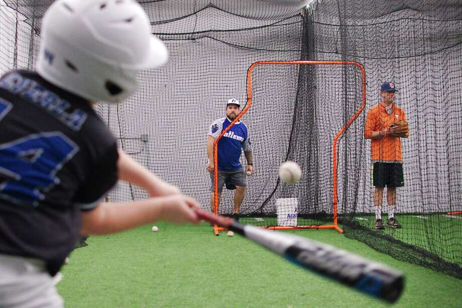 Facility44 offers training facilities for baseball and softball. Photo: Kirk Sides / Staff Photographer / © 2018 Kirk Sides / Houston Chronicle