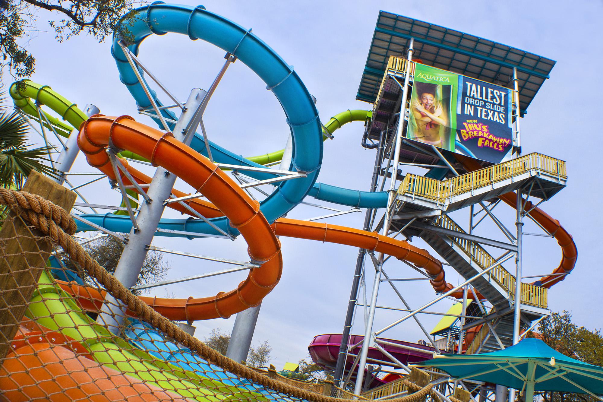 New San Antonio Rides Attractions At Sea World And Six