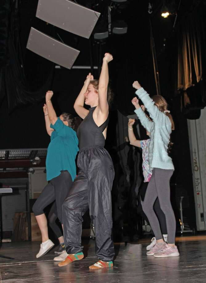 "Rehearsals for the Glens Falls High School production of ""Sister Act."" Photo: Glens Falls High School"