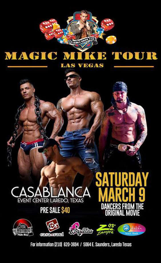 """Magic Mike Tour: Las Vegas"" is coming to Laredo on March 9 featuring dancers from the original film. Photo: Courtesy"