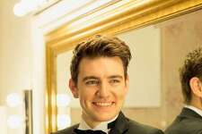 Irish tenor Emmet Cahill will perform Sunday at Orange Congregational Church.
