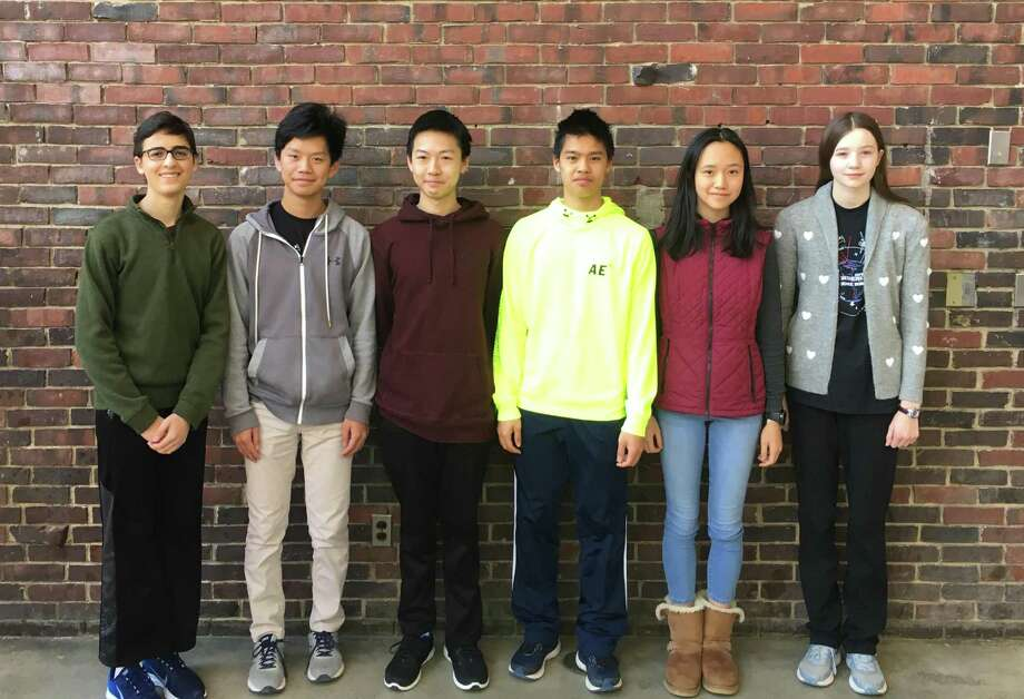 GHS clinched its 10th consecutive Fairfield County Math League title with the highest cumulative score and the largest margin in league history. The state-wide meet will be on April 4, when GHS will attempt to win its 11th title in the last 12 years. Photo: Contributed
