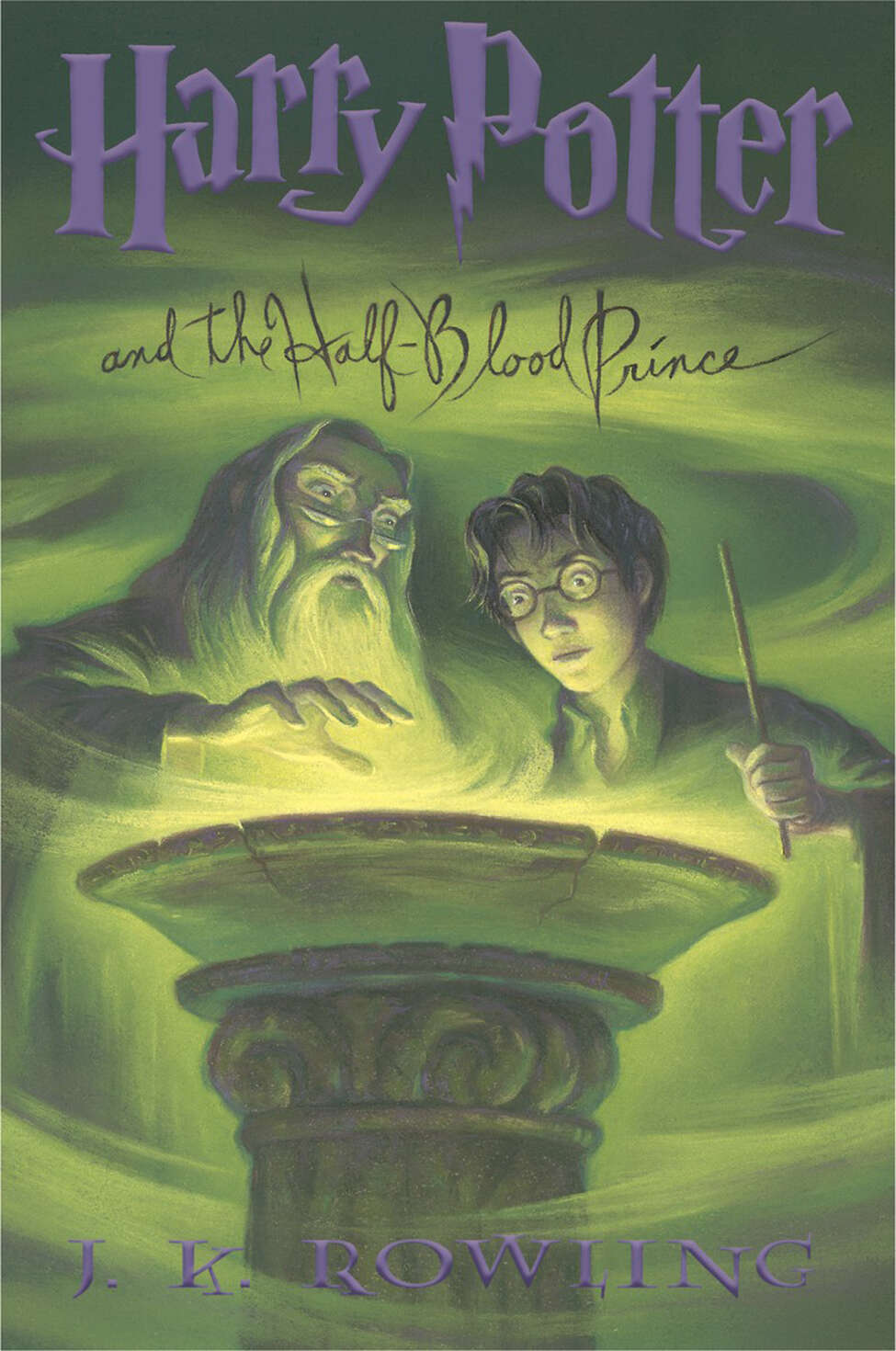 This photo supplied by Scholastic publishers shows the dust jacket cover of the U.S. version of
